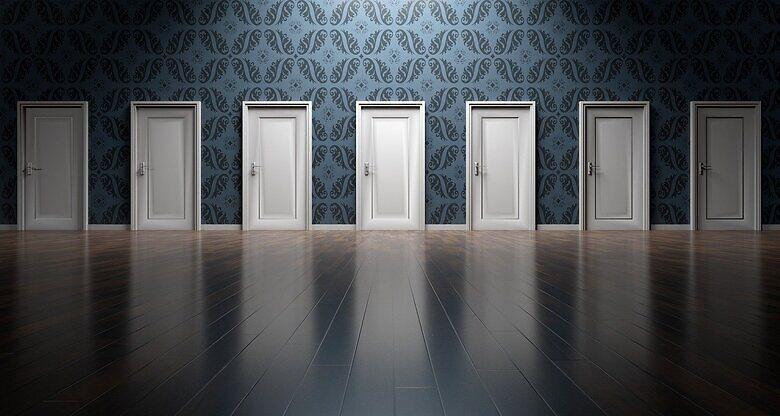 doors in a row